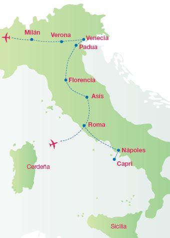 Mapa De Verona Italia.Verona Italia La Ciudad De Los Enamorados Panavision Tours